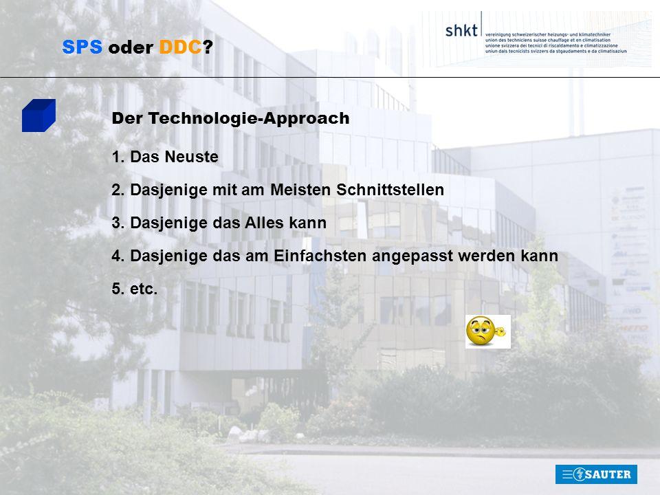 SPS oder DDC Der Technologie-Approach 1. Das Neuste