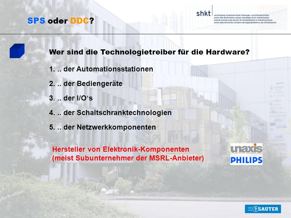 SPS oder DDC Wer sind die Technologietreiber für die Hardware