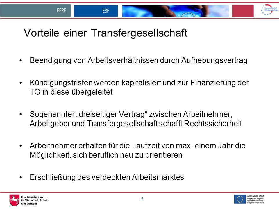 Vorteile einer Transfergesellschaft