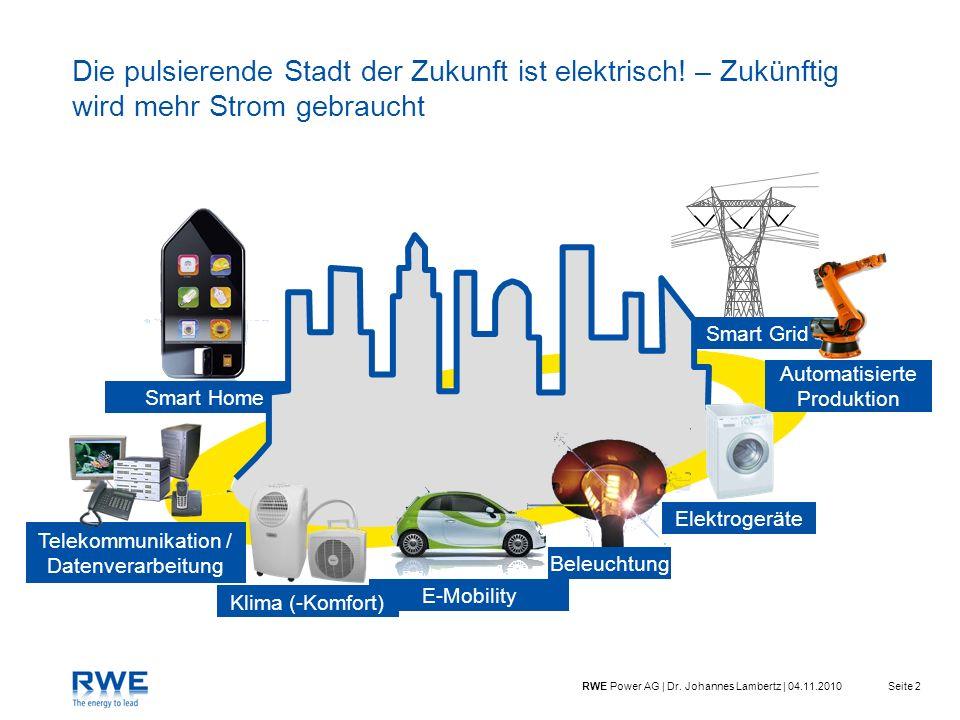 Die pulsierende Stadt der Zukunft ist elektrisch