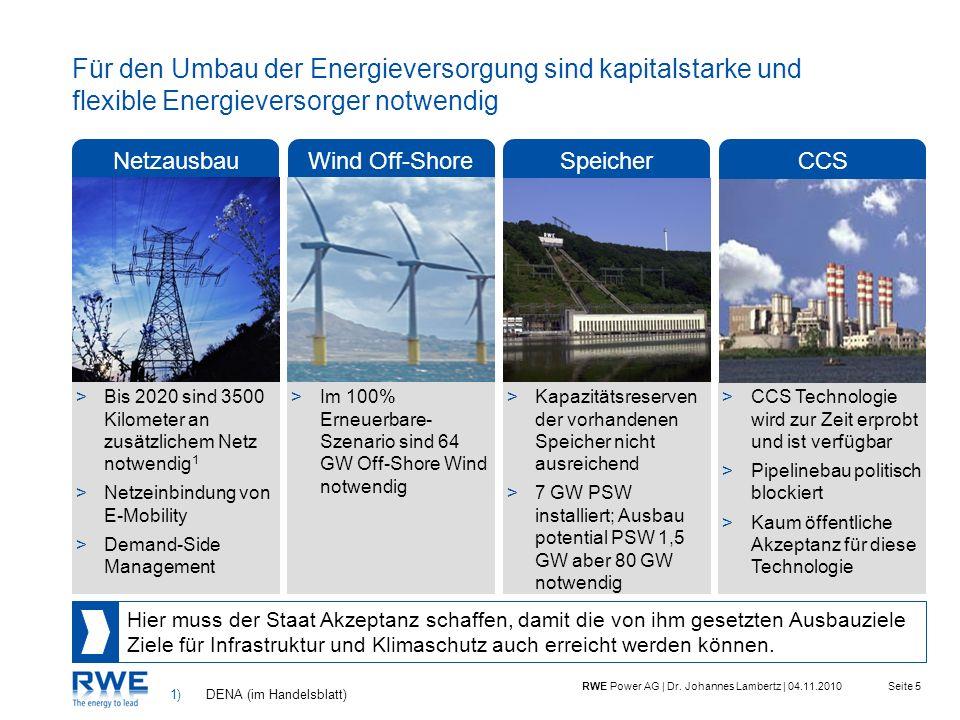 Für den Umbau der Energieversorgung sind kapitalstarke und flexible Energieversorger notwendig