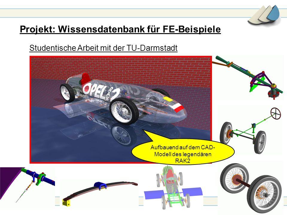 Aufbauend auf dem CAD-Modell des legendären RAK2