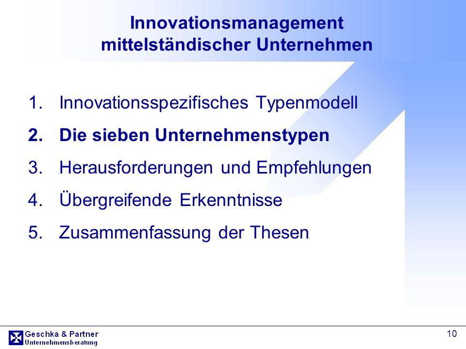 Innovationsmanagement mittelständischer Unternehmen