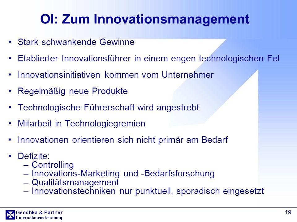 OI: Zum Innovationsmanagement