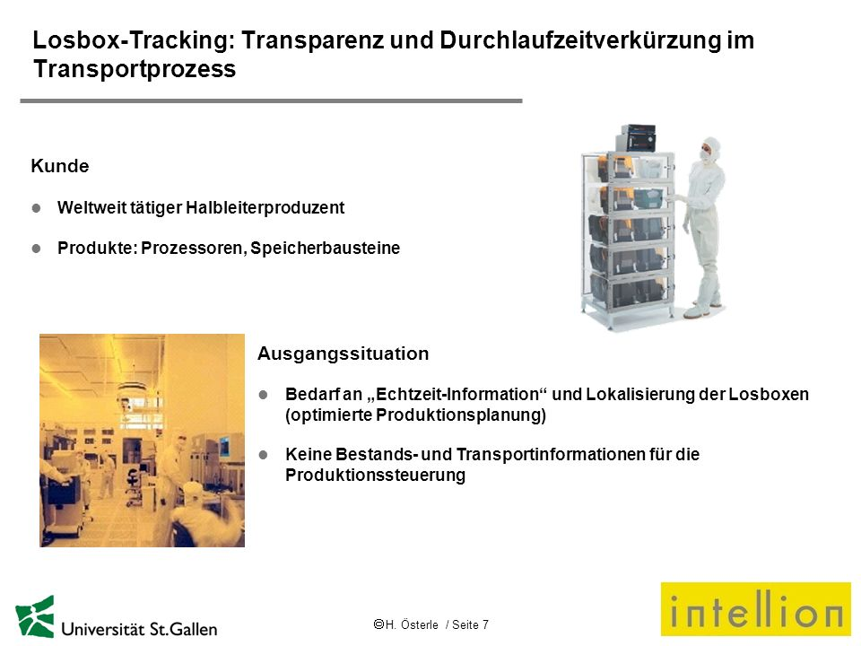 Losbox-Tracking: Transparenz und Durchlaufzeitverkürzung im Transportprozess