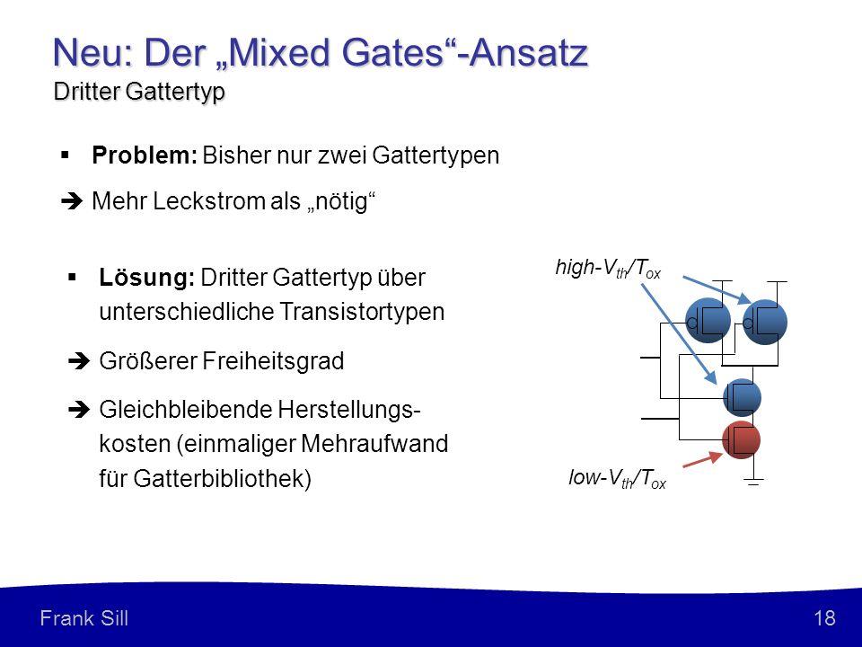 "Neu: Der ""Mixed Gates -Ansatz"