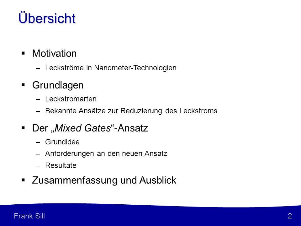 """Übersicht Motivation Grundlagen Der """"Mixed Gates -Ansatz"""
