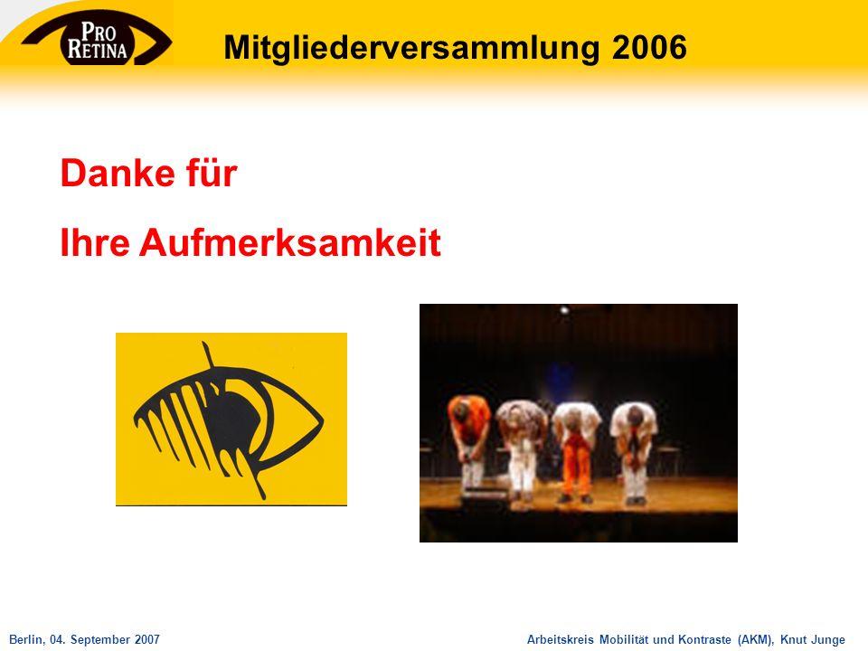 Mitgliederversammlung 2006