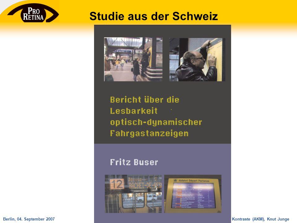 Studie aus der Schweiz