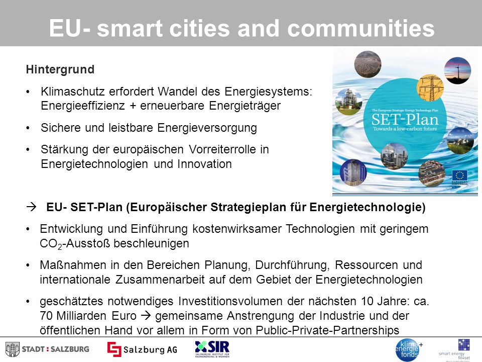 EU- smart cities and communities