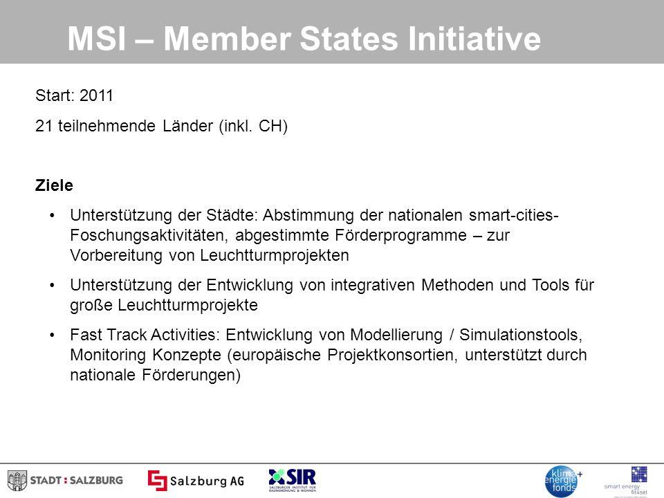 MSI – Member States Initiative