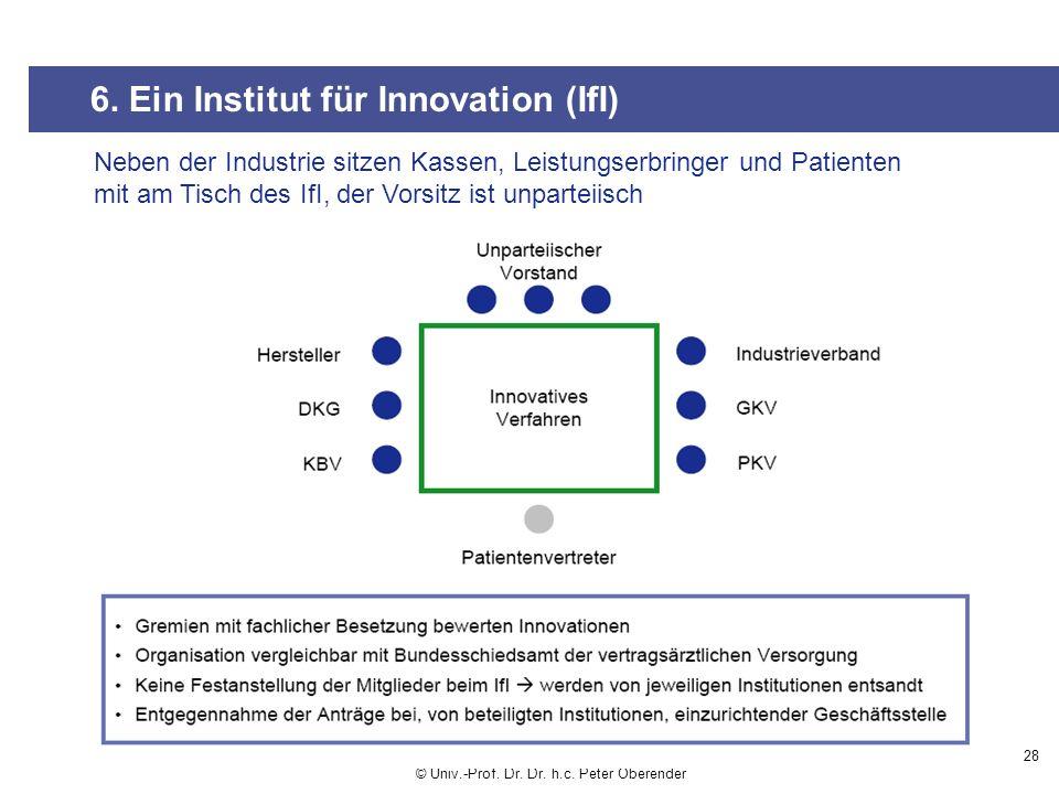 6. Ein Institut für Innovation (IfI)