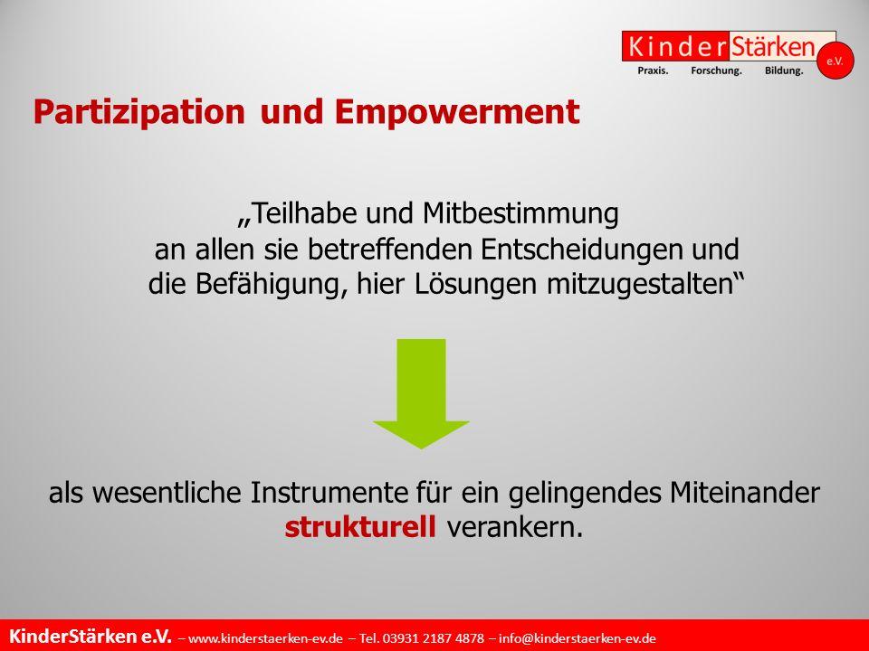 Partizipation und Empowerment