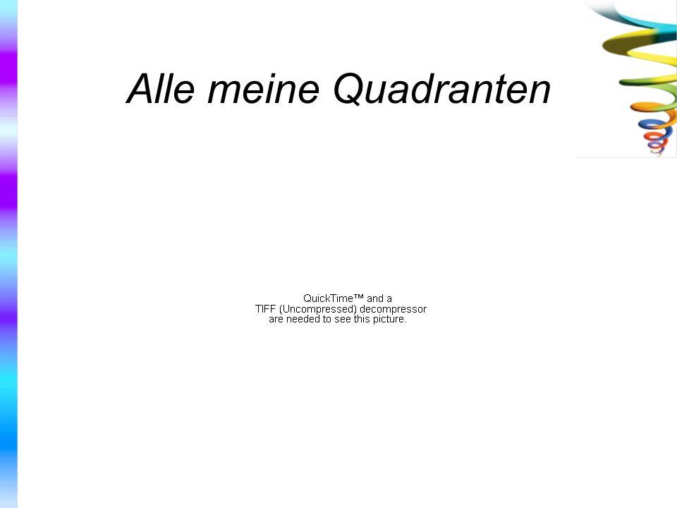 Alle meine Quadranten