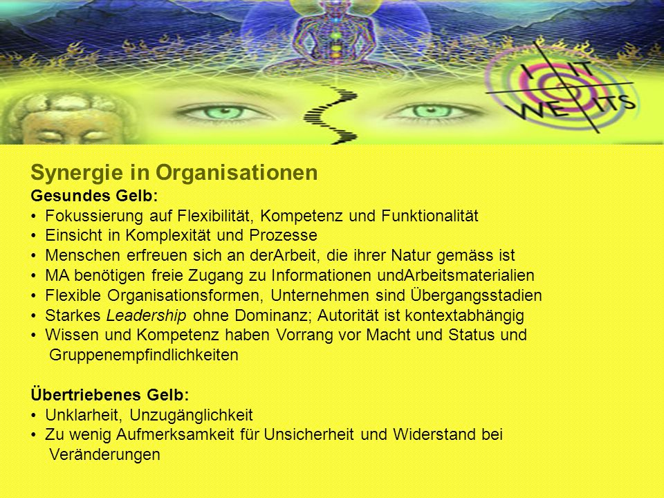 Synergie in Organisationen