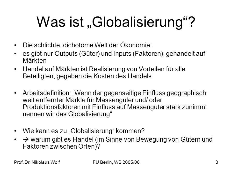 """Was ist """"Globalisierung"""