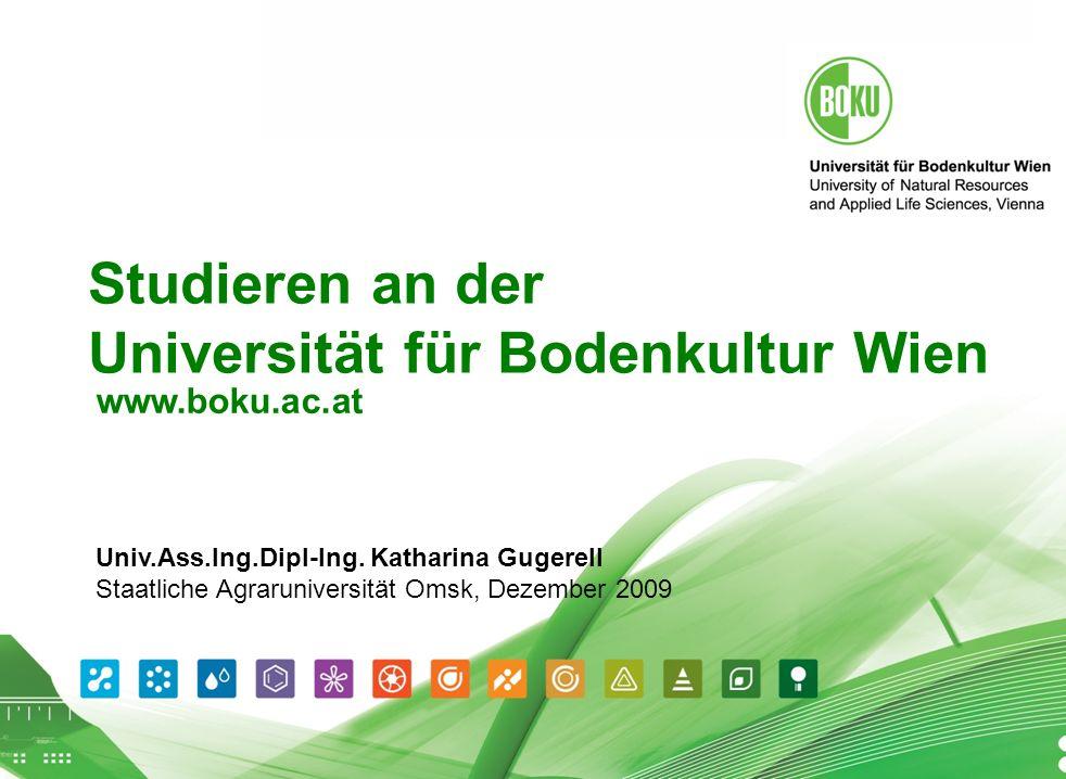 Studieren an der Universität für Bodenkultur Wien