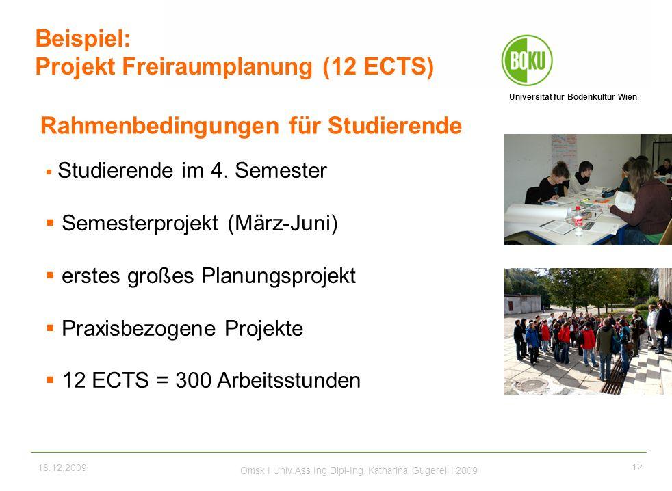 Projekt Freiraumplanung (12 ECTS)