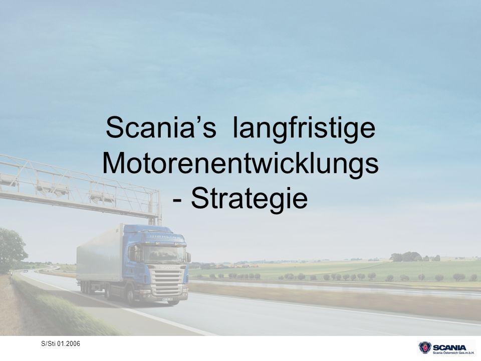 Scania's langfristige Motorenentwicklungs - Strategie