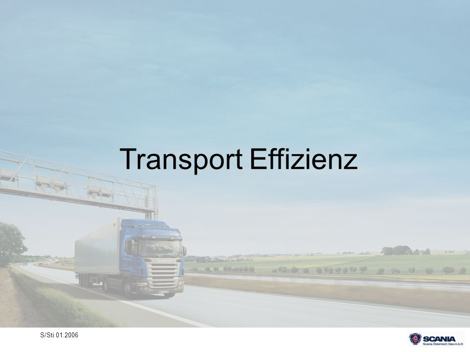 Transport Effizienz S/Sti