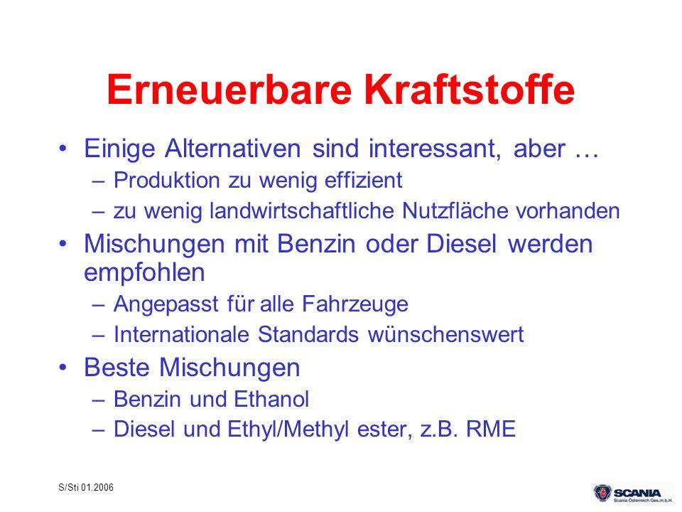 Erneuerbare Kraftstoffe