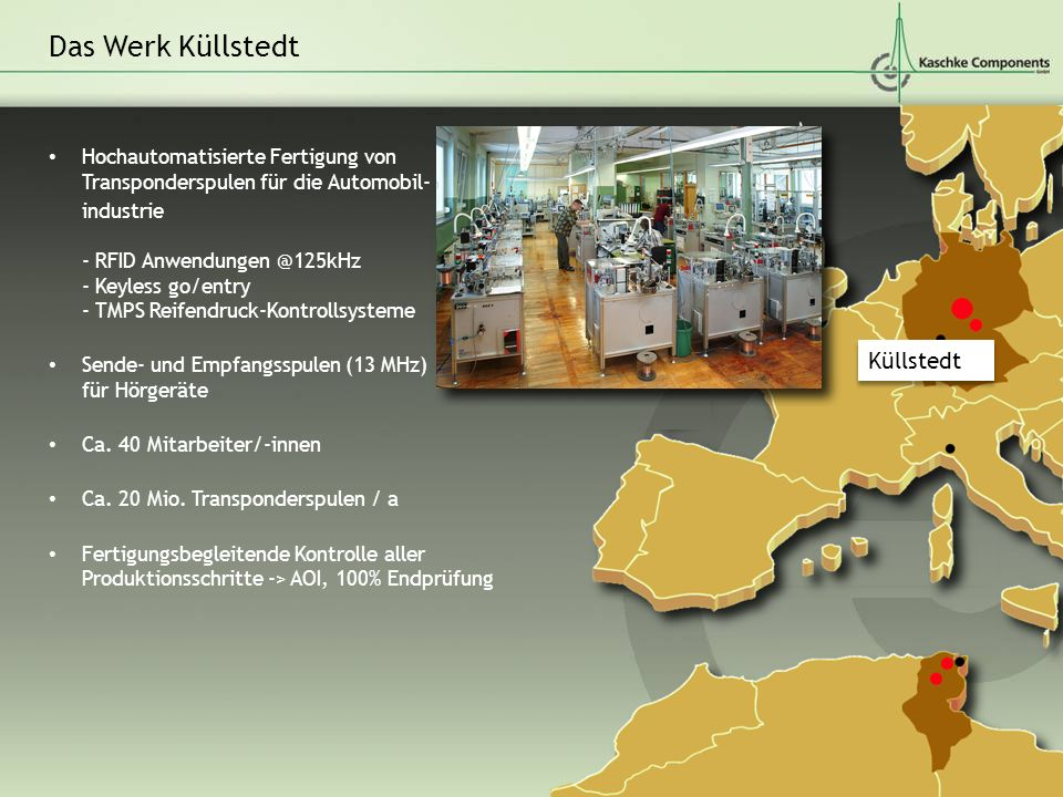 Das Werk Küllstedt Küllstedt