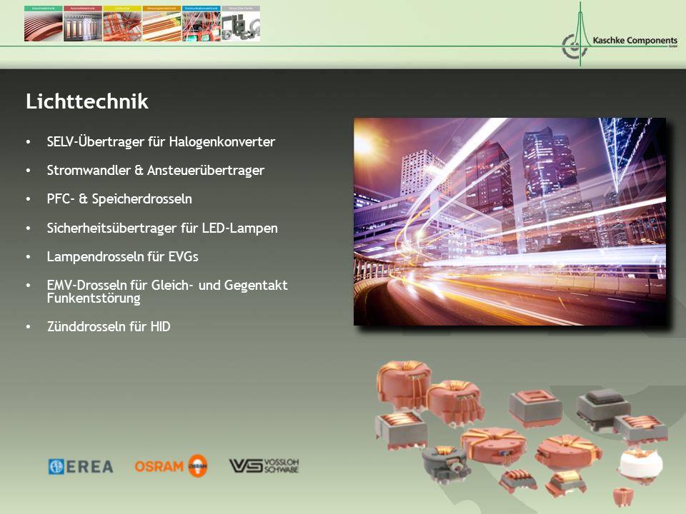 Lichttechnik SELV-Übertrager für Halogenkonverter