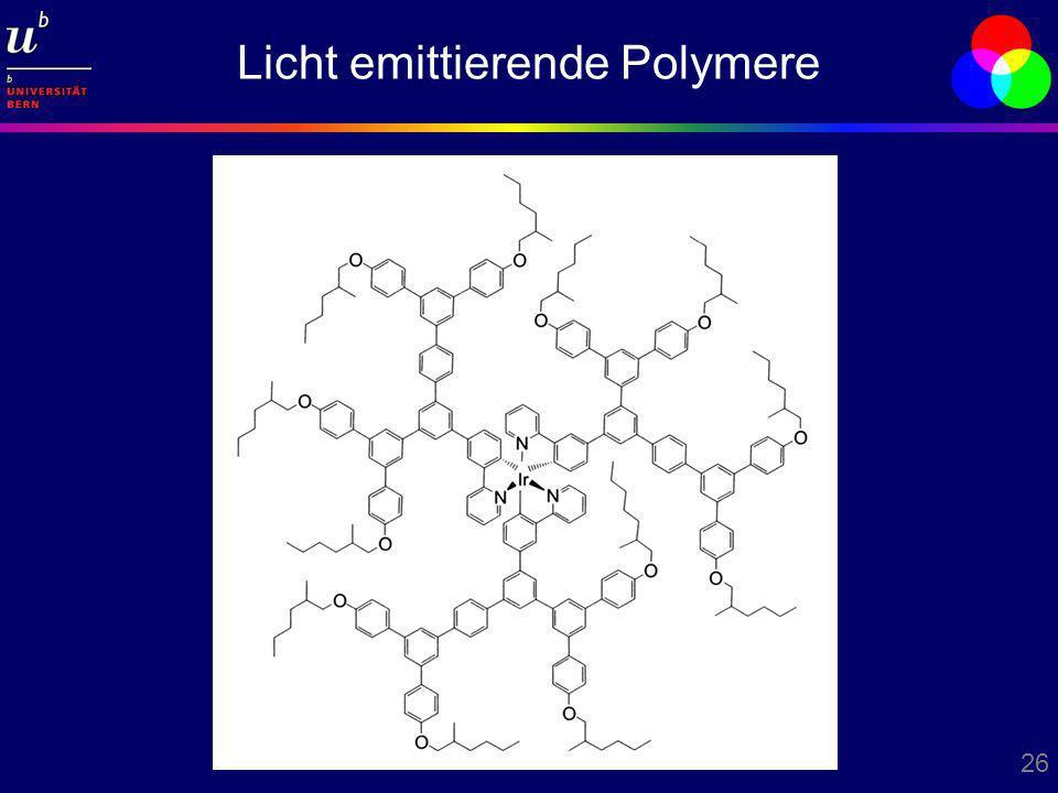 Licht emittierende Polymere