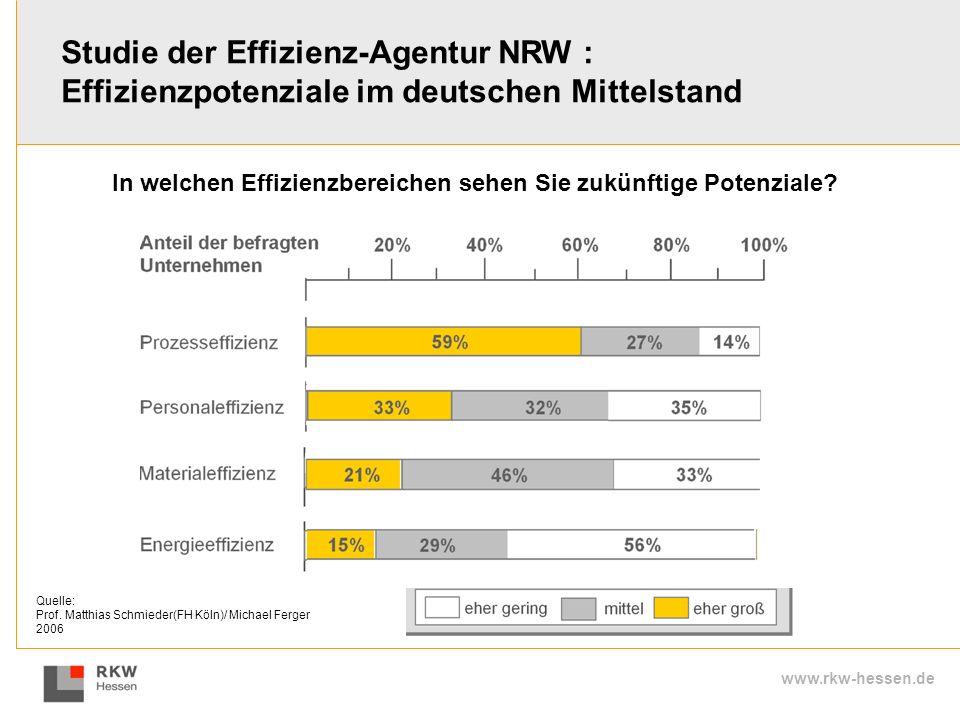 Studie der Effizienz-Agentur NRW :