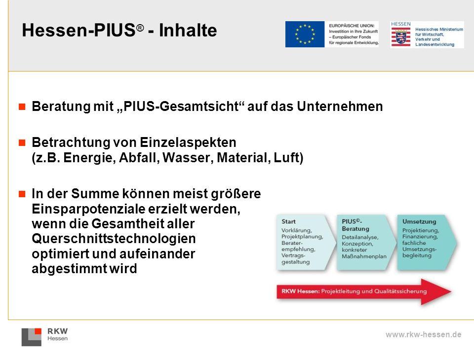 Hessen-PIUS® - Inhalte