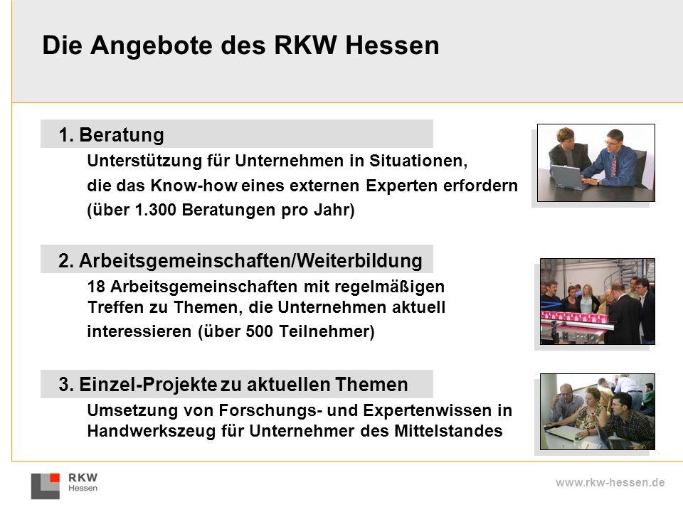 Die Angebote des RKW Hessen