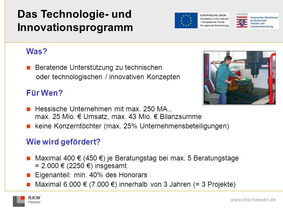 Das Technologie- und Innovationsprogramm