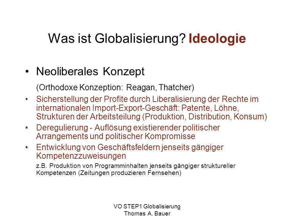 Was ist Globalisierung Ideologie