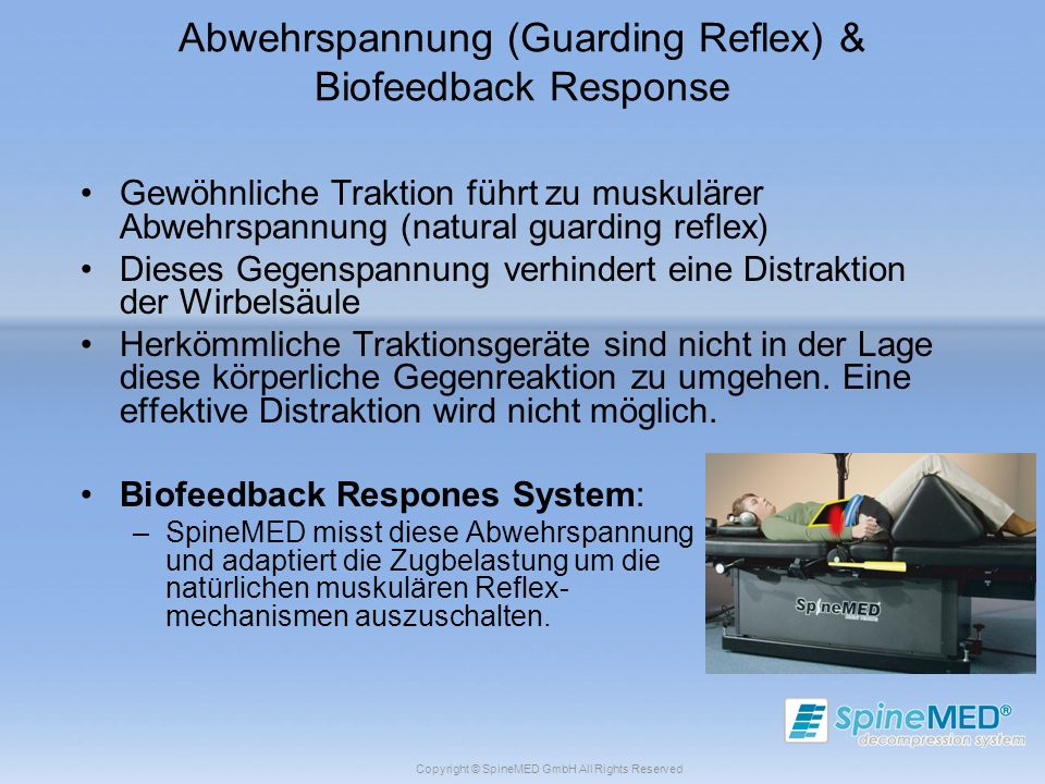 Abwehrspannung (Guarding Reflex) & Biofeedback Response