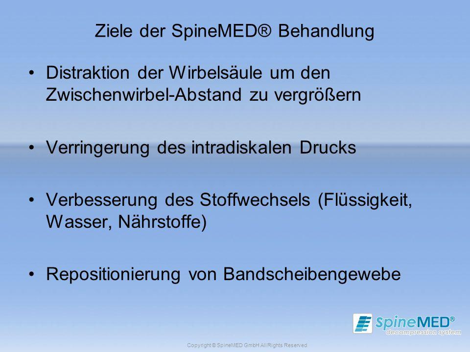Ziele der SpineMED® Behandlung