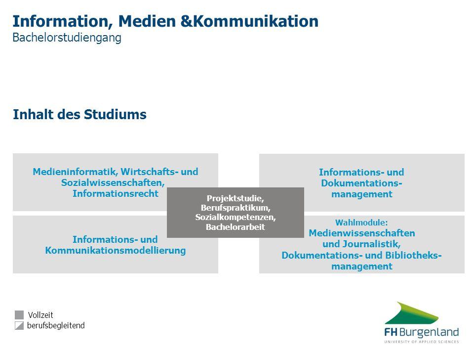 Information, Medien &Kommunikation Bachelorstudiengang