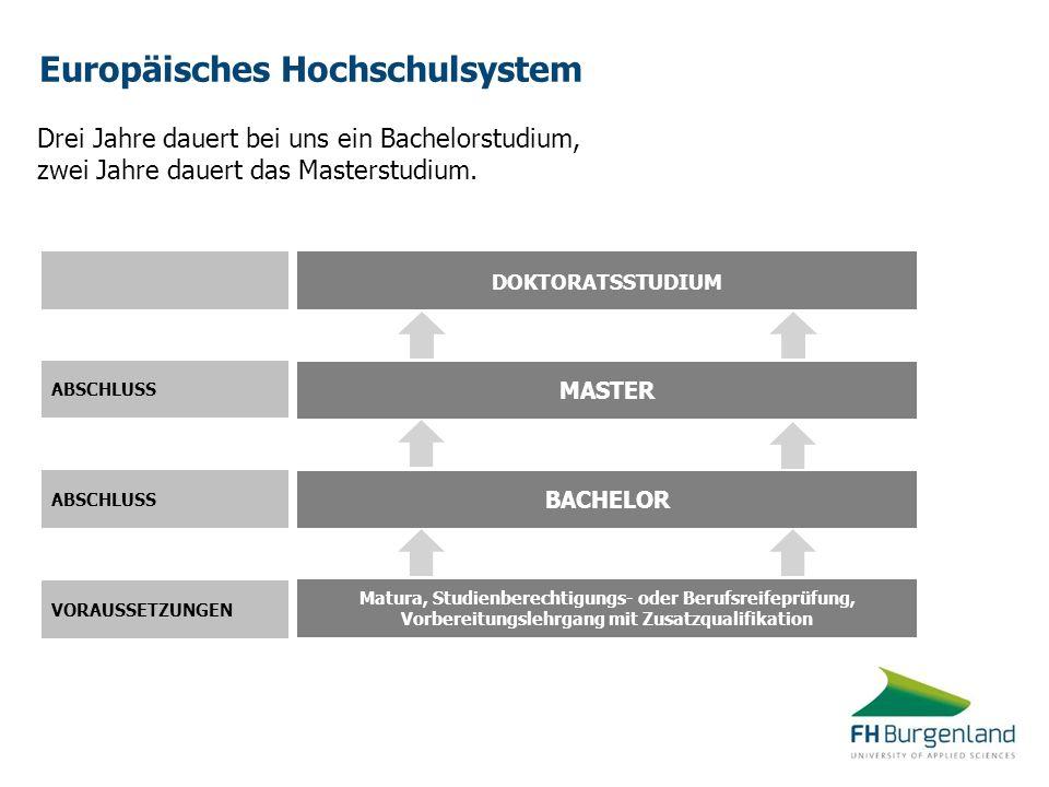 Europäisches Hochschulsystem