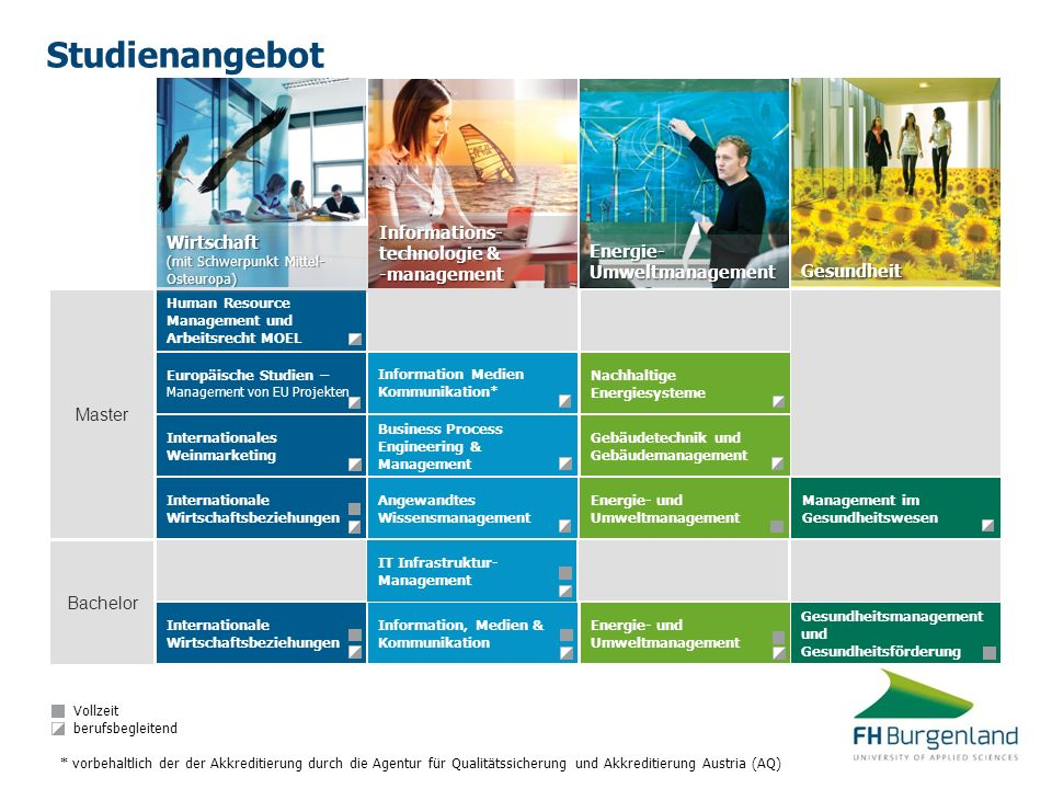 Studienangebot Informations- Wirtschaft technologie & -management