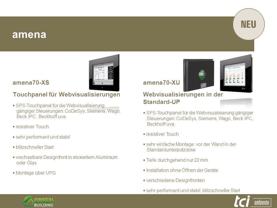 amena amena70-XS Touchpanel für Webvisualisierungen amena70-XU