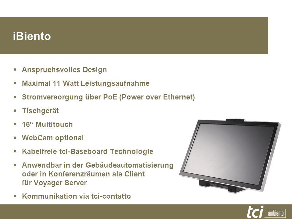 iBiento Anspruchsvolles Design Maximal 11 Watt Leistungsaufnahme