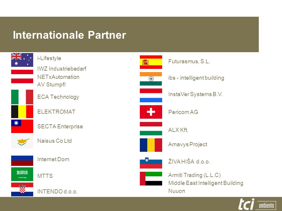Internationale Partner