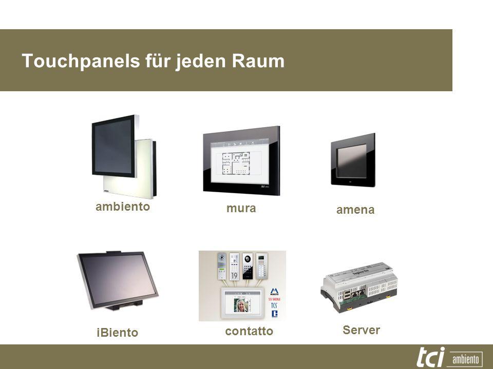 Touchpanels für jeden Raum