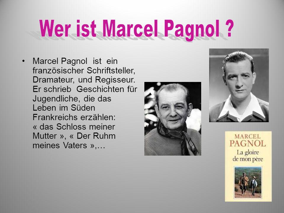 Wer ist Marcel Pagnol