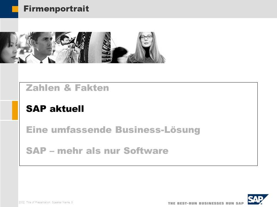 Eine umfassende Business-Lösung SAP – mehr als nur Software