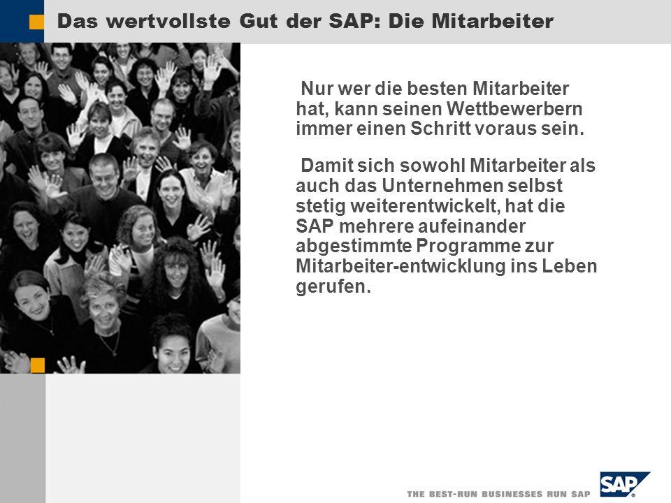 Das wertvollste Gut der SAP: Die Mitarbeiter