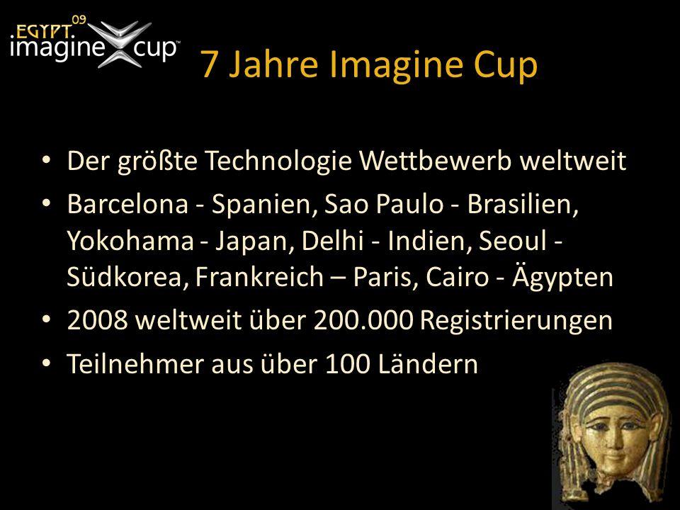 7 Jahre Imagine Cup Der größte Technologie Wettbewerb weltweit