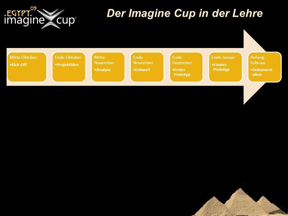 Der Imagine Cup in der Lehre