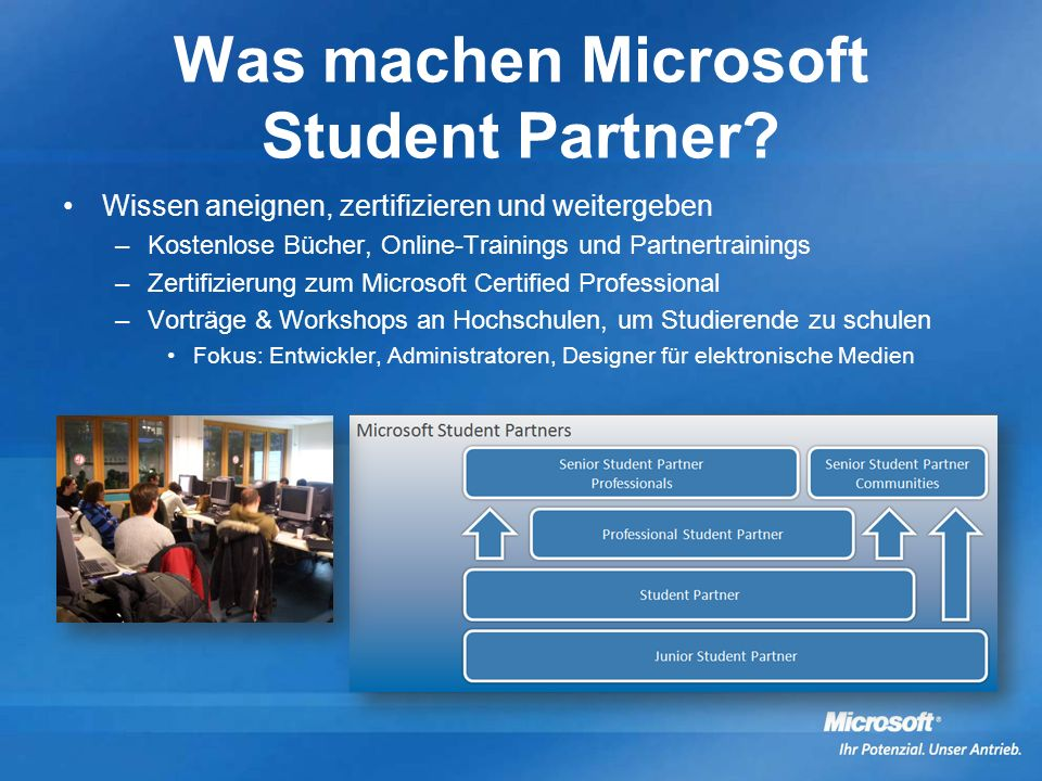 Was machen Microsoft Student Partner
