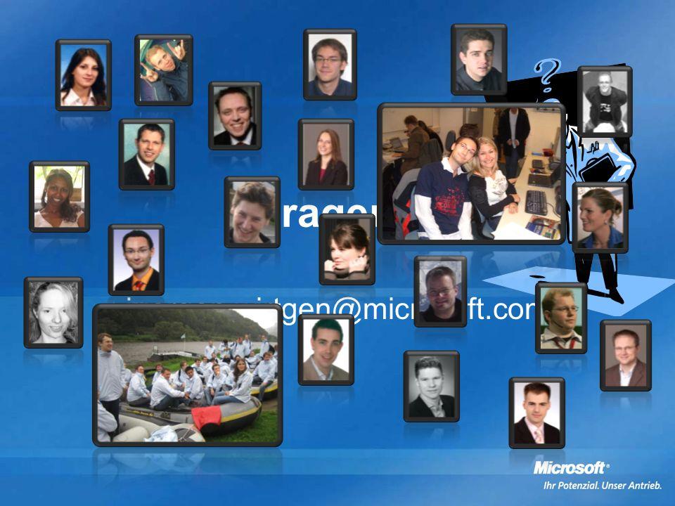 Fragen juergen.wirtgen@microsoft.com