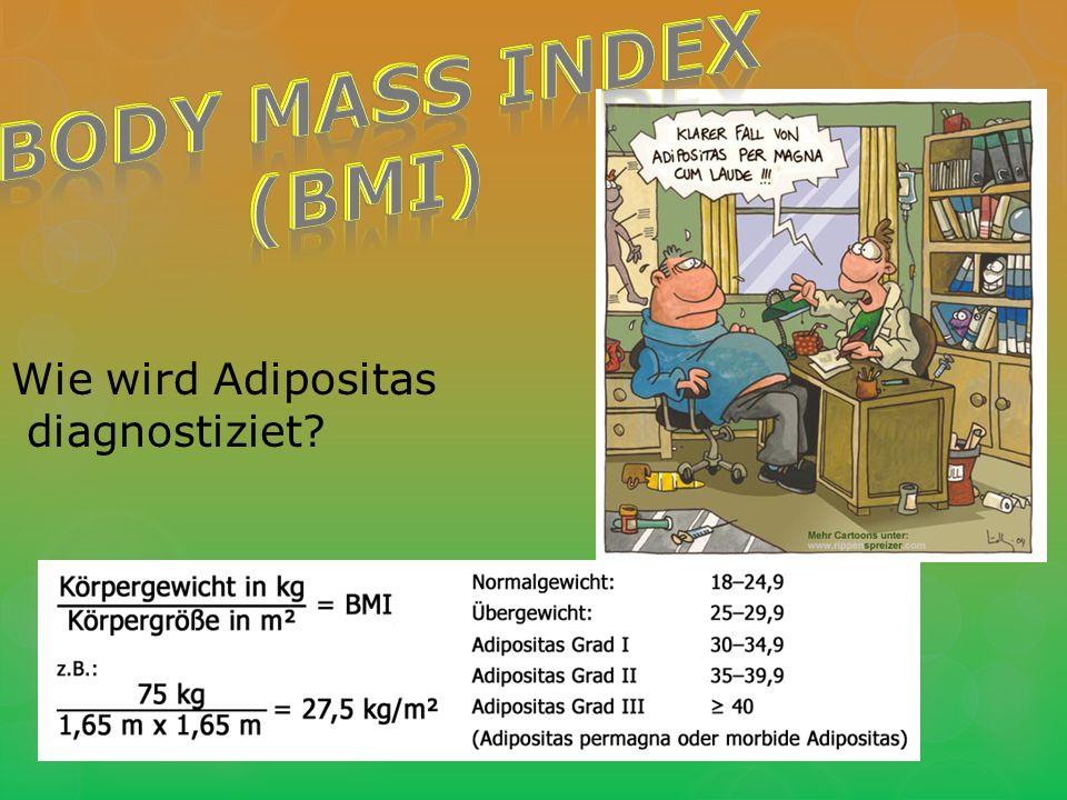 Wie wird Adipositas diagnostiziet